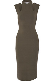 Dion Lee Cutout stretch-knit dress