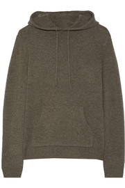 Dion Lee Hooded open-back cashmere sweater
