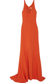 Narciso Rodriguez Stretch-crepe gown