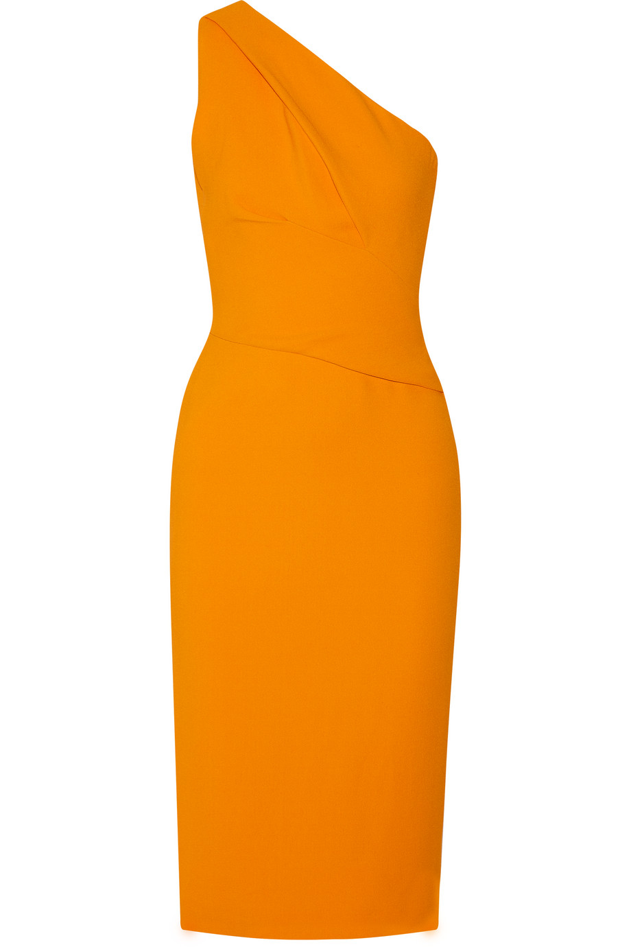 ae9c8d3a946ed Narciso Rodriguez One-Shoulder Stretch-Crepe Dress
