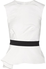Narciso Rodriguez Belted silk top