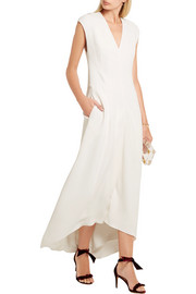 Narciso Rodriguez Paneled crepe dress