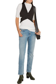 3.1 Phillip Lim Cutout ribbed wool-blend top