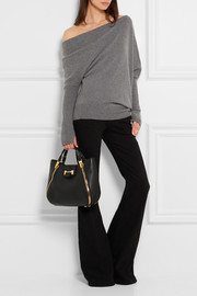 Sedgewick small textured-leather tote