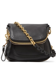Jennifer mini leather shoulder bag