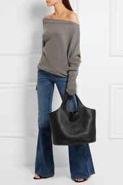 Miranda large leather tote bag