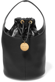 Miranda leather bucket bag