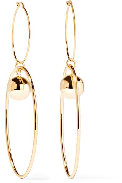 Stella Mccartney Gold Plated Earrings