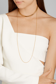 Stella McCartney Gold-plated choker
