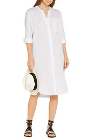 James Perse Linen shirt dress