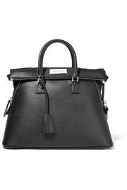 Maison Margiela 5AC large textured-leather tote
