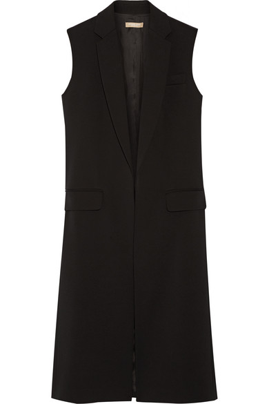 michael kors female 188971 michael kors collection wooltwill gilet black