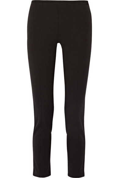 michael kors female 188971 michael kors collection stretchtwill straightleg pants black