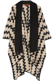 Missoni Crochet-knit wrap