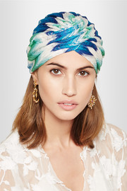 Missoni Crochet-knit turban