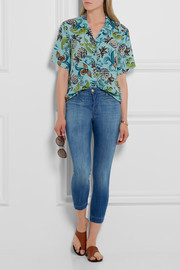 Skeyla cropped mid-rise skinny jeans