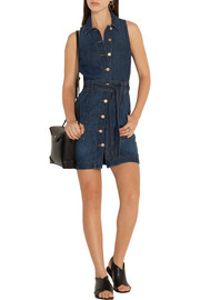 J Brand Caressa denim mini dress