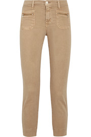 J Brand Talon stretch-cotton twill skinny pants