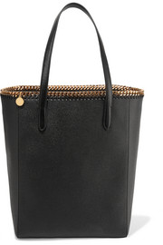Stella McCartney The Falabella faux textured-leather tote