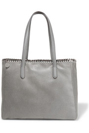 Stella McCartney The Falabella faux brushed-leather tote