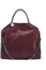 The Falabella medium faux brushed-leather shoulder bag