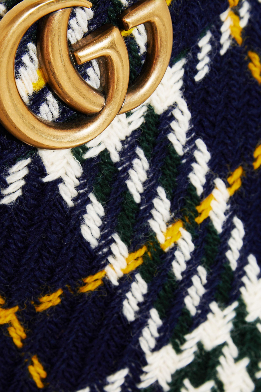 Gucci Plaid wool skirt