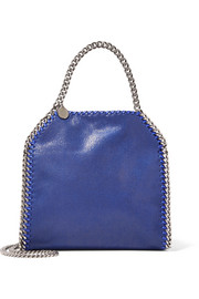 The Falabella mini faux brushed-leather tote