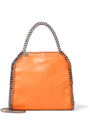 Stella McCartney The Falabella mini faux brushed-leather tote