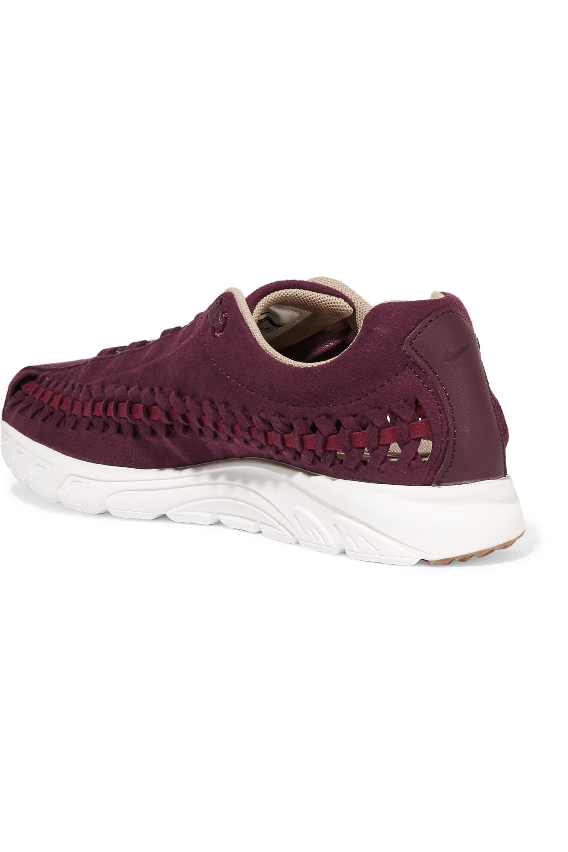 Nike Mayfly open-weave suede sneakers
