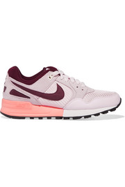 Nike Air Pegasus 89 leather and suede sneakers