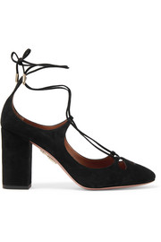 Dancer suede pumps