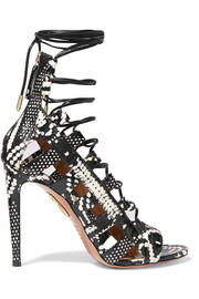 Amazon lace-up elaphe sandals