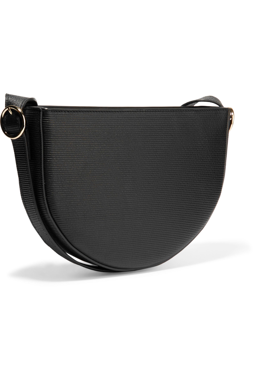 Victoria Beckham Baby Half Moon textured-leather shoulder bag