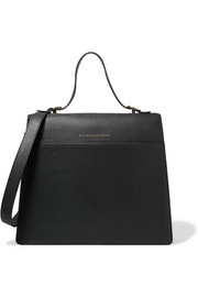 Victoria Beckham Topaz textured-leather tote