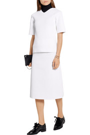 Victoria Beckham Elite crocheted midi skirt
