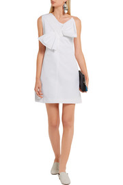 Victoria, Victoria Beckham One-shoulder faille mini dress