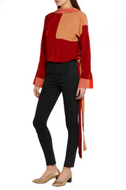 Victoria, Victoria Beckham Powerhigh high-rise skinny jeans