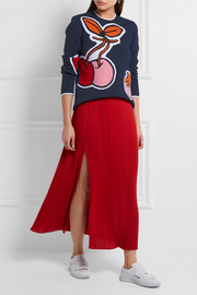 Victoria, Victoria Beckham Intarsia knitted sweater