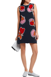 Victoria, Victoria Beckham Intarsia knitted mini dress
