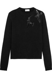 REDValentino Sequined knitted sweater