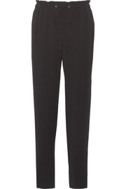 Theory Tralpin crepe straight-leg pants