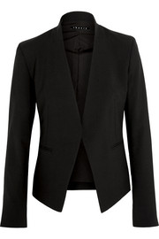 Lanai stretch-wool crepe blazer