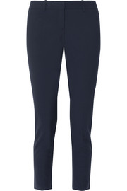 Testra stretch-wool crepe tapered pants