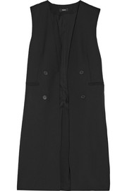 Theory Aggie wool-crepe gilet