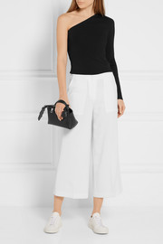Theory Uleera one-shoulder stretch-knit top