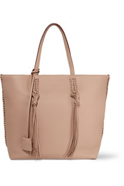 Gypsy medium textured-leather tote