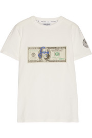 Ben printed cotton-jersey T-shirt