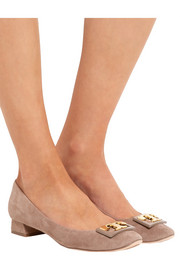 Tory Burch Gigi suede pumps