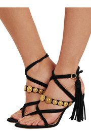 Chloé Embellished suede sandals