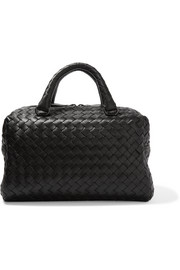 Bottega Veneta Boston mini intrecciato leather tote